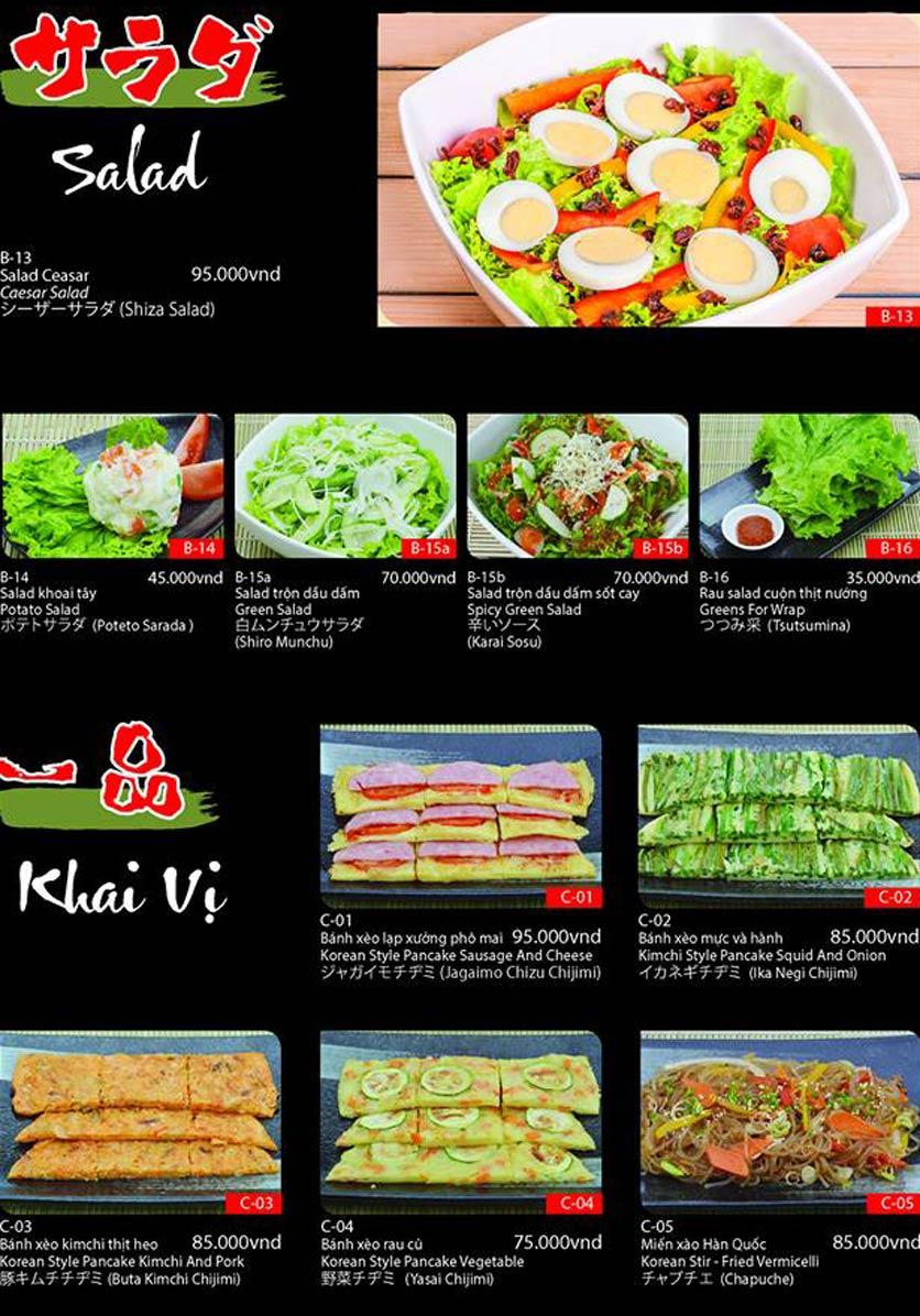 Menu Tokori BBQ - Ngô Quyền 52
