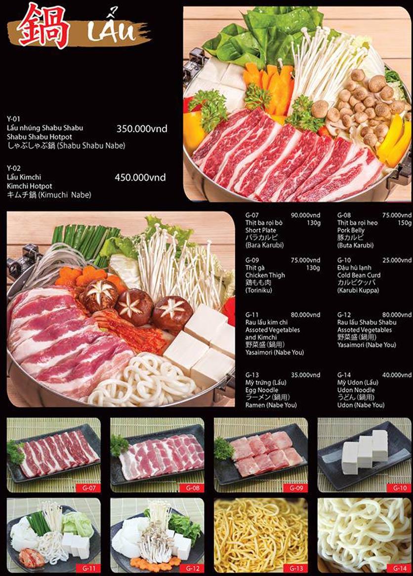 Menu Tokori BBQ - Ngô Quyền 57