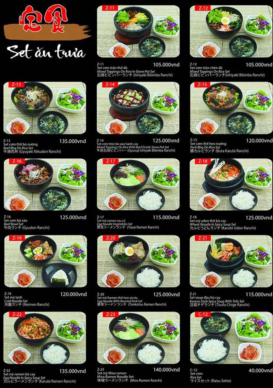 Menu Tokori BBQ - Ngô Quyền 61