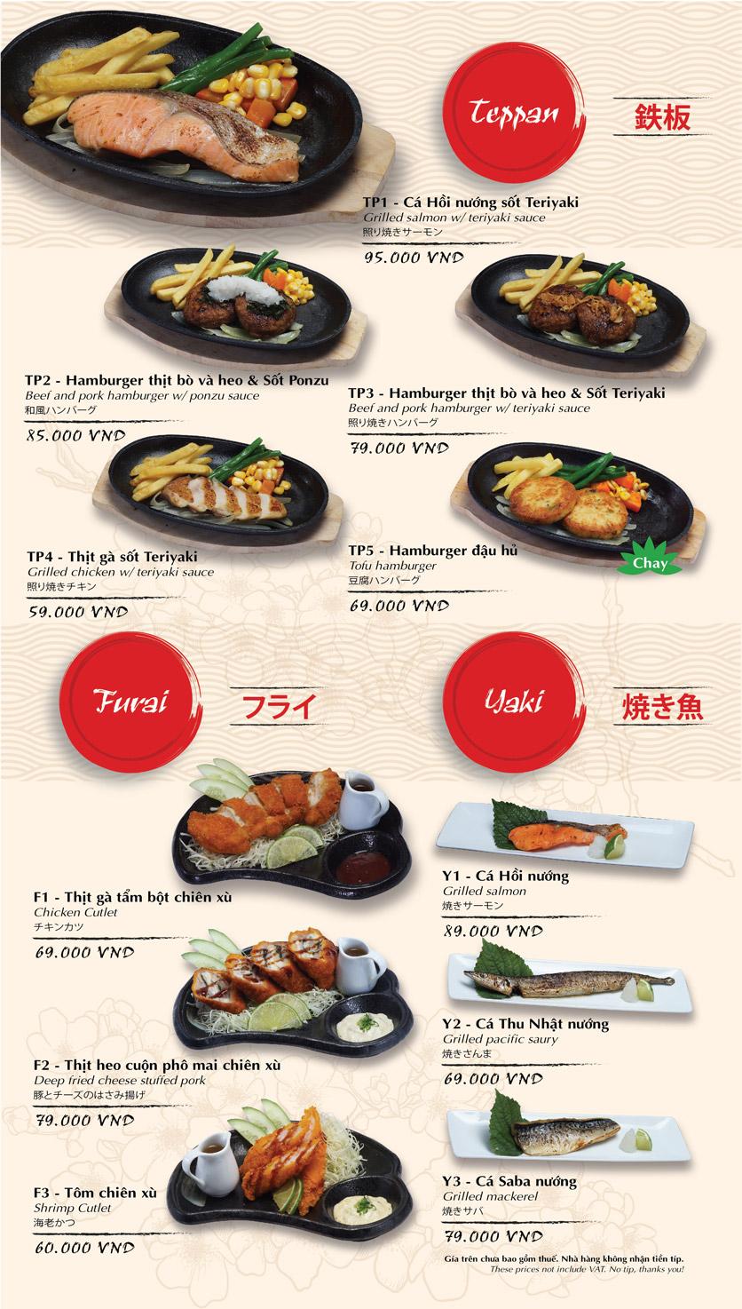 Menu Tokyo Deli - Ngô Quyền 15