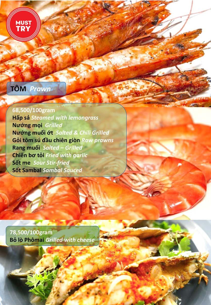 Menu Hải Sản Tomato - Lê Văn Hưu  3