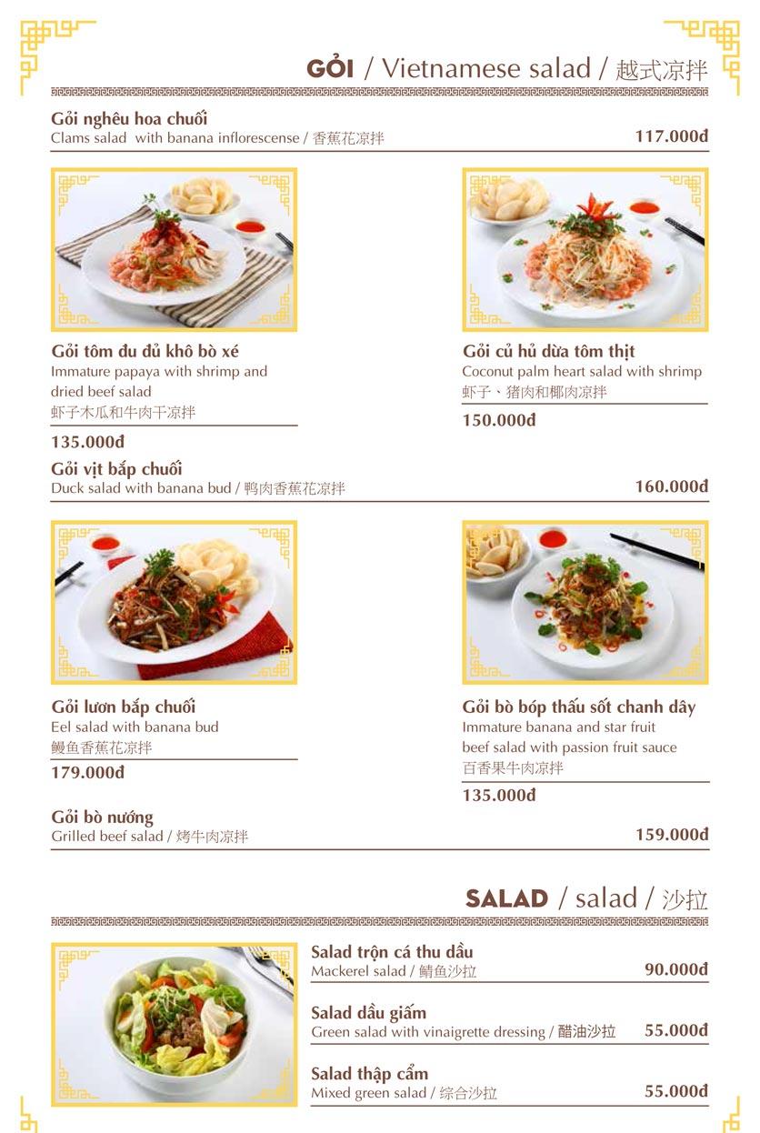 Menu Nhà hàng Việt - Phan Chu Trinh 6