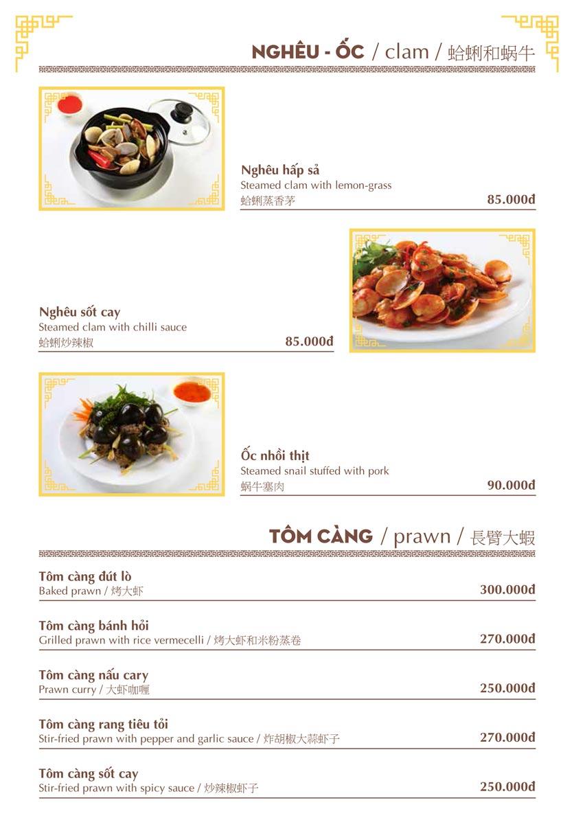 Menu Nhà hàng Việt - Phan Chu Trinh 7