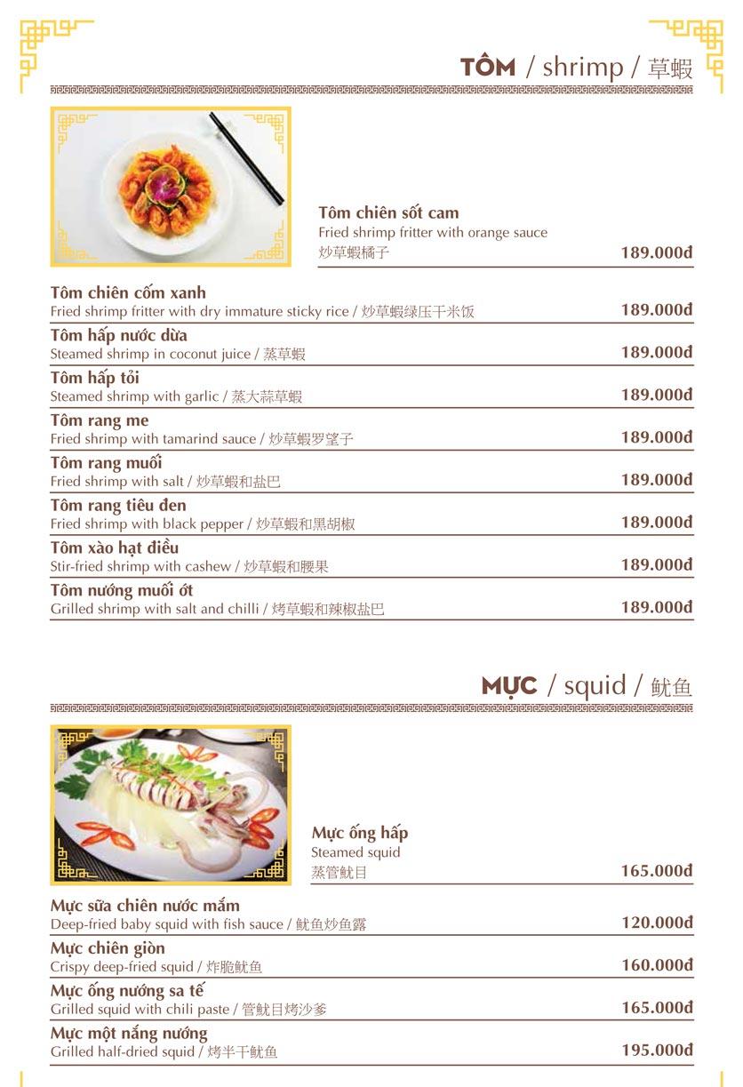 Menu Nhà hàng Việt - Phan Chu Trinh 8