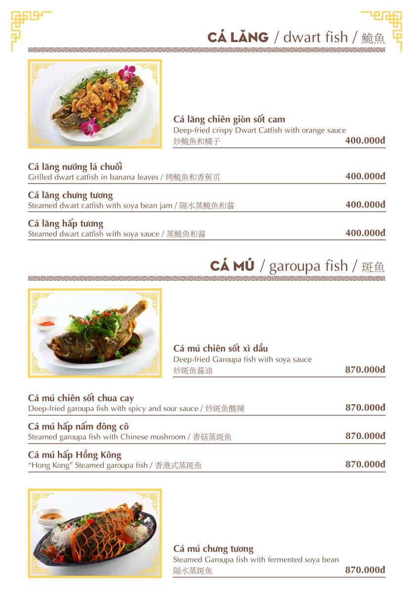Menu Nhà hàng Việt - Phan Chu Trinh 9