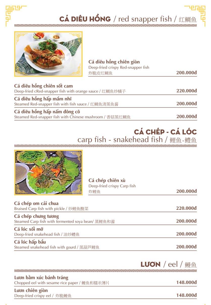 Menu Nhà hàng Việt - Phan Chu Trinh 10