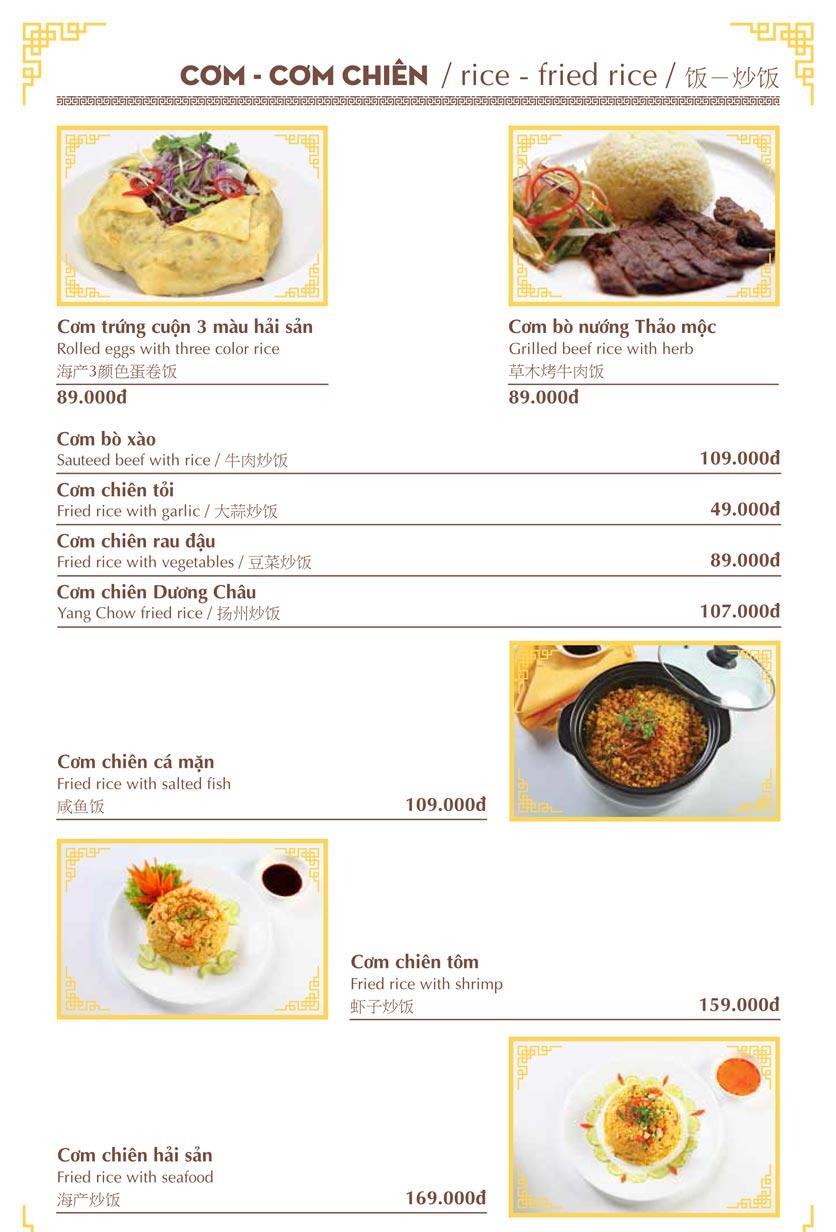 Menu Nhà hàng Việt - Phan Chu Trinh 14