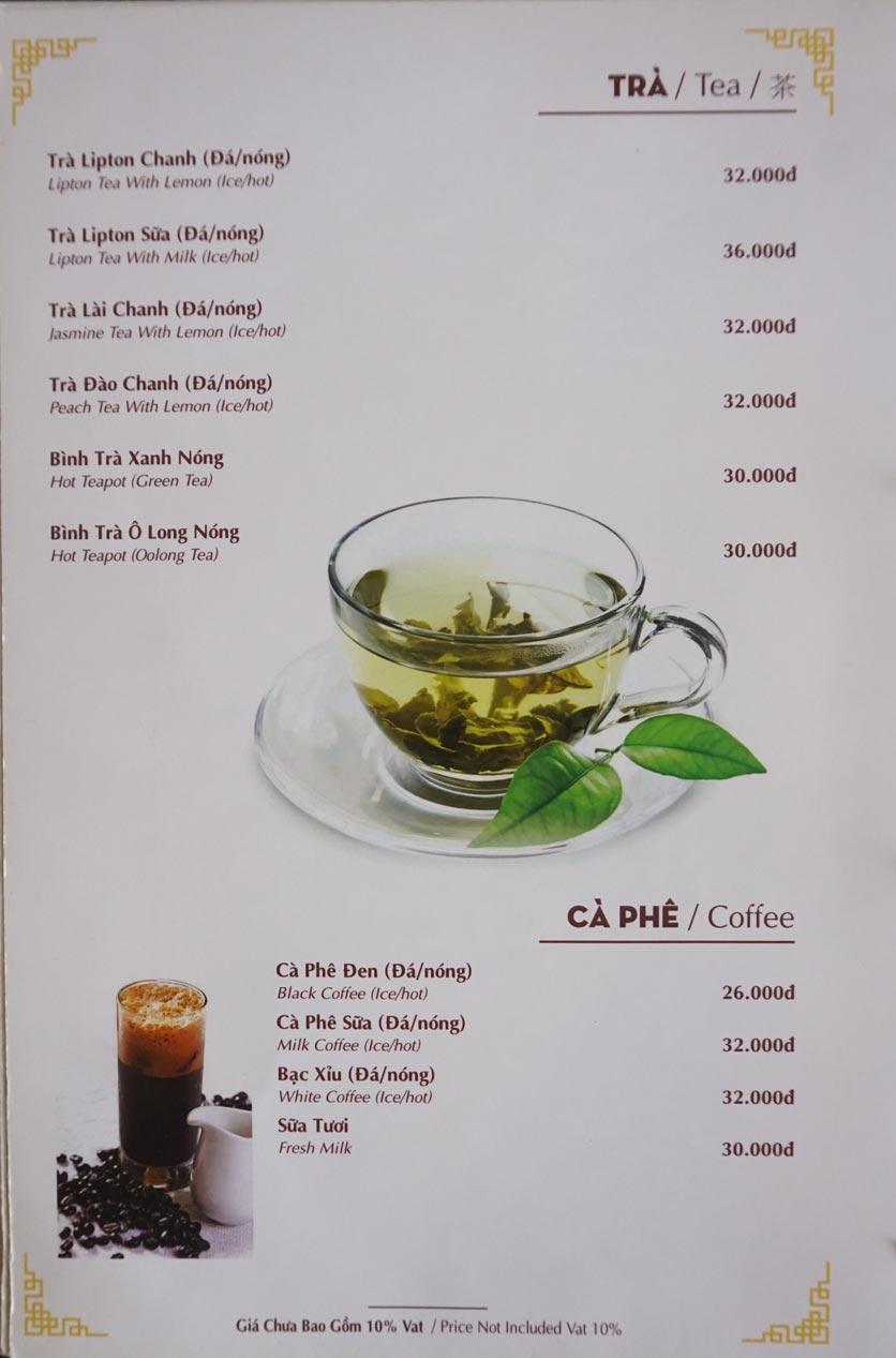 Menu Nhà hàng Việt - StarHill 20