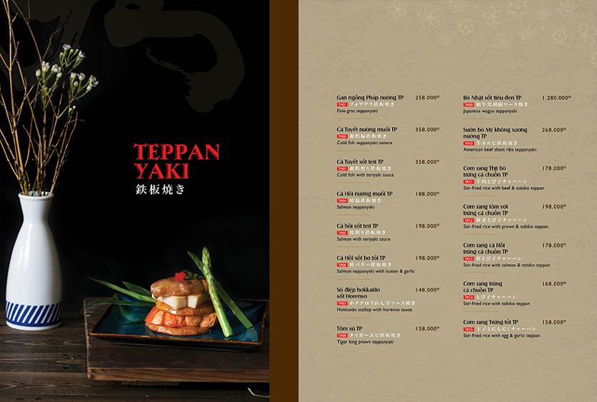 Menu Wa Japanese Cuisine – Trần Phú 5
