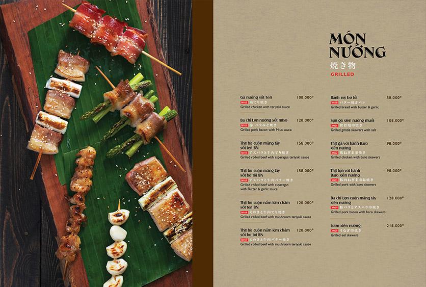 Menu Wa Japanese Cuisine – Trần Phú 7