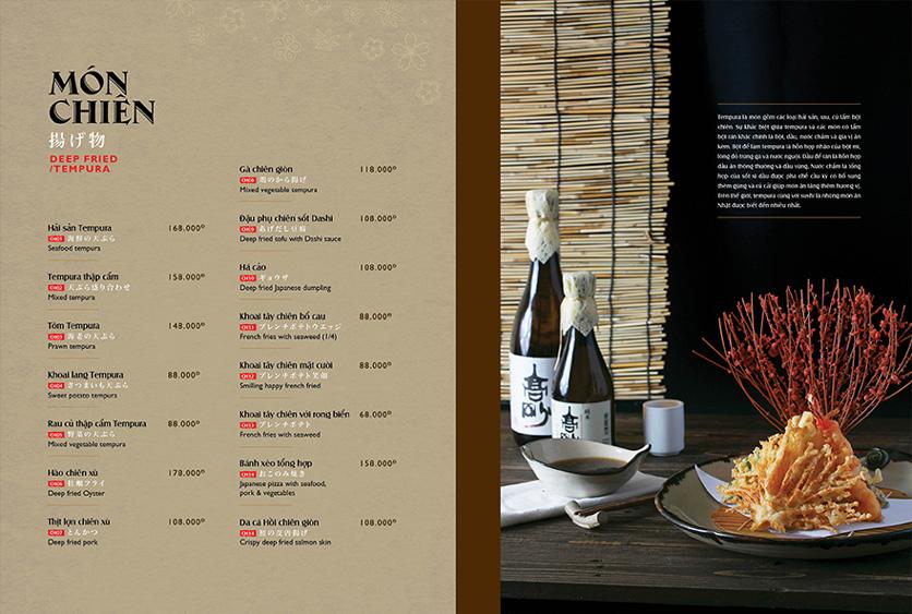 Menu Wa Japanese Cuisine – Trần Phú 8