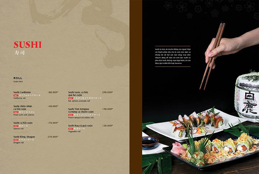 Menu Wa Japanese Cuisine – Trần Phú 11