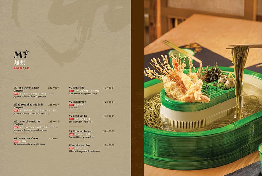 Menu Wa Japanese Cuisine – Trần Phú 13