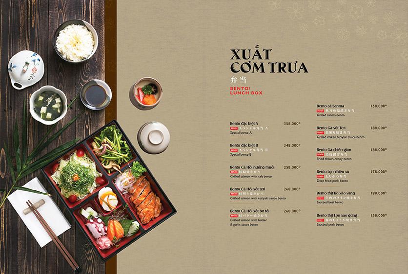 Menu Wa Japanese Cuisine – Trần Phú 15