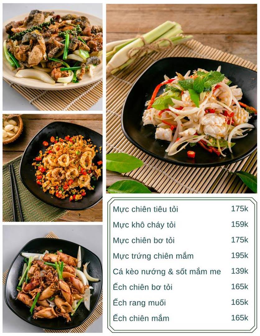 Menu Bếp Xuka - Nhà Chung 4