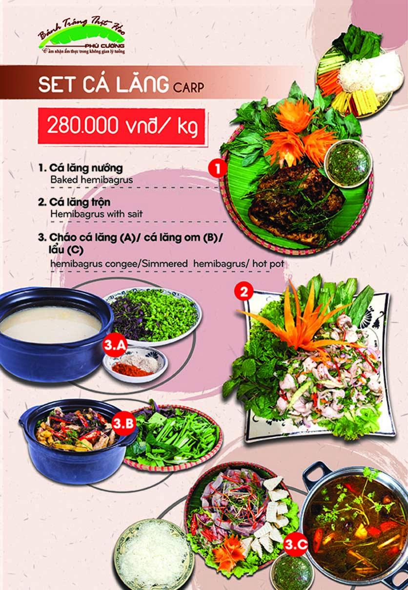 Menu Bánh Tráng Thịt Heo Phú Cường - Yết Kiêu 11