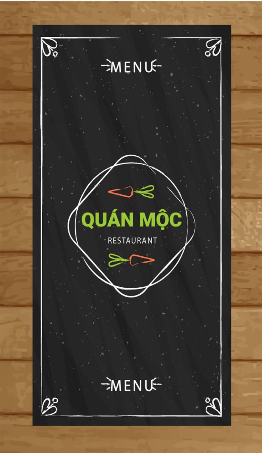 Menu Bò Tơ Quán Mộc - Hoàng Quốc Việt 1