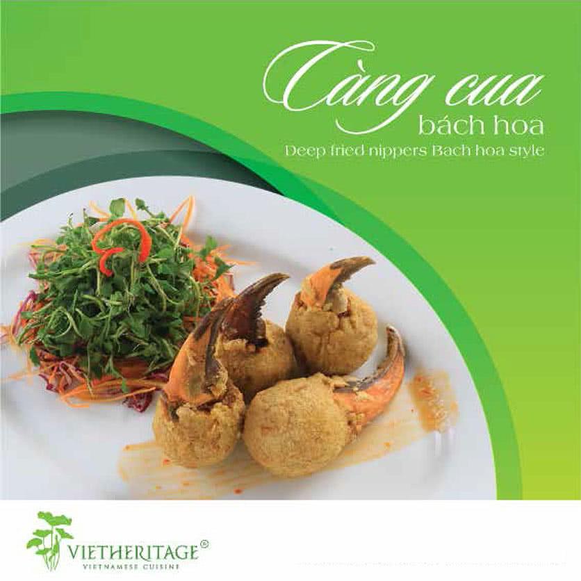 Menu Vietheritage - Võ Văn Tần 15