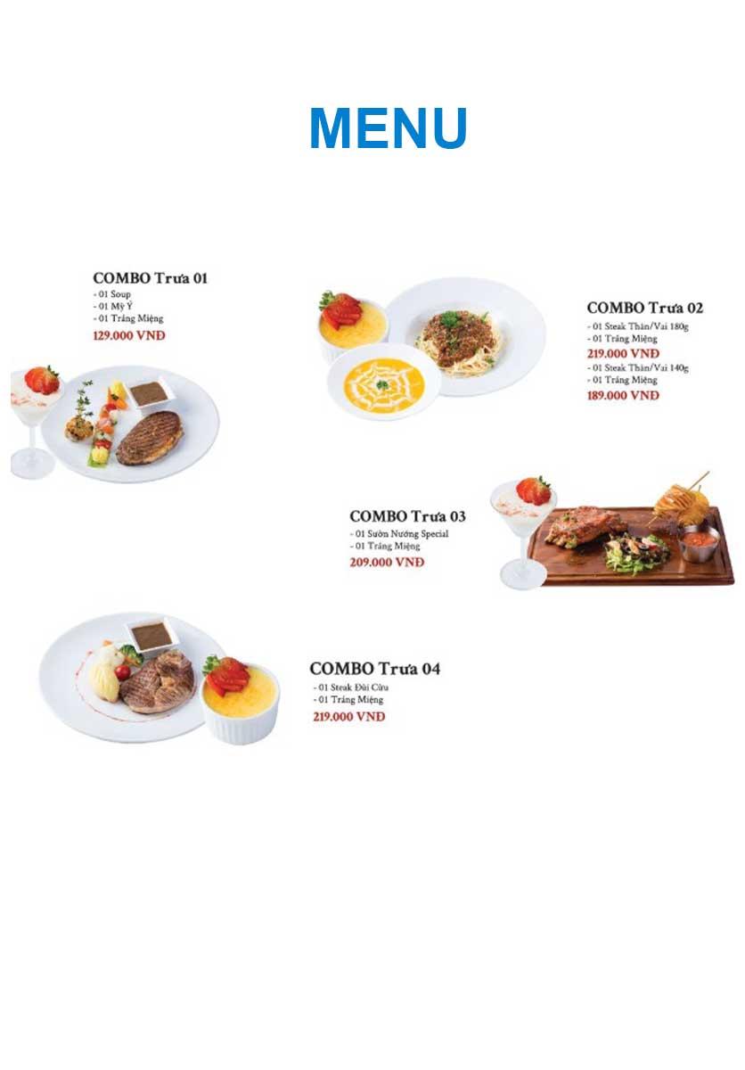 Menu Gent Steak - Hoàng Cầu   10
