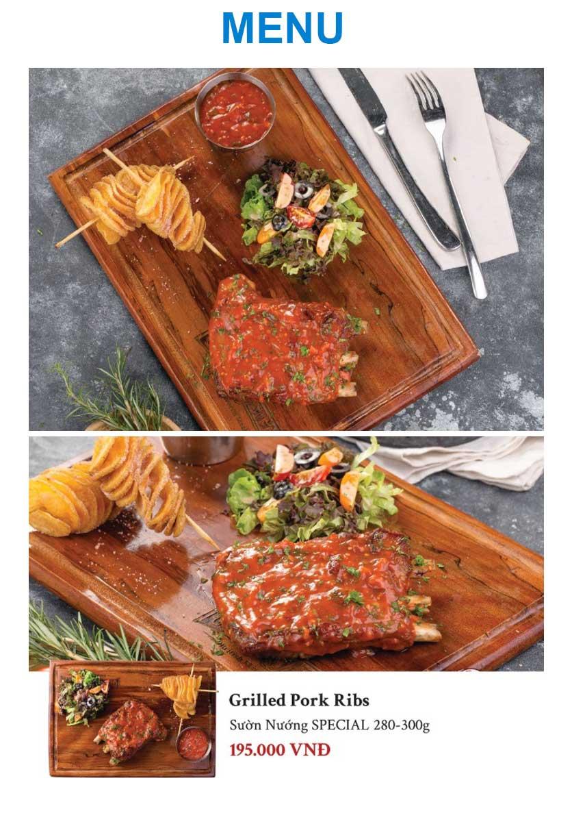 Menu Gent Steak - Hoàng Cầu   6