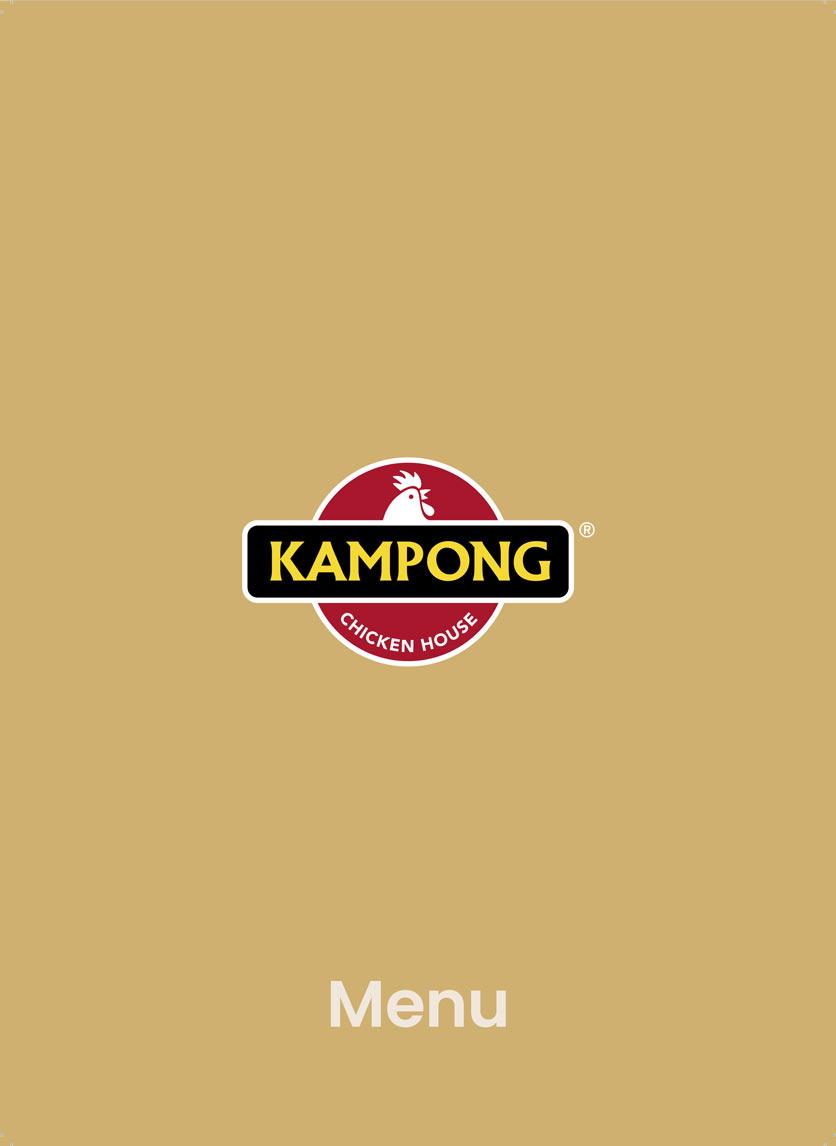 Menu Kampong Chicken House - Cơm gà Hải Nam - Hoàng Đạo Thúy 1
