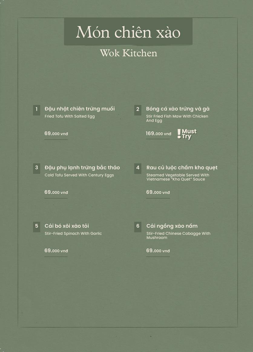 Menu Kampong Chicken House - Cơm Gà Hải Nam - Phạm Ngọc Thạch  14