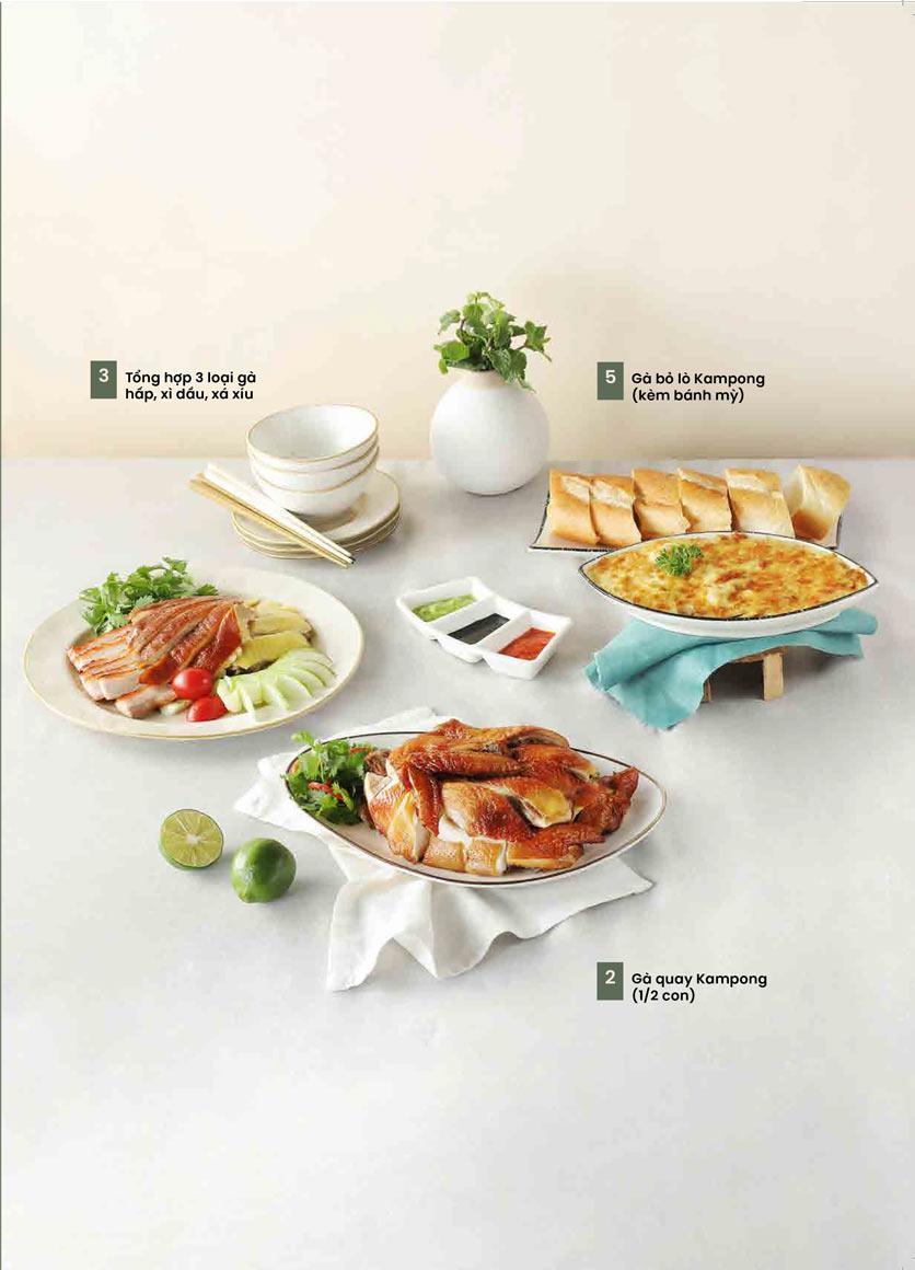 Menu Kampong Chicken House - Cơm gà Hải Nam - Hoàng Đạo Thúy 23