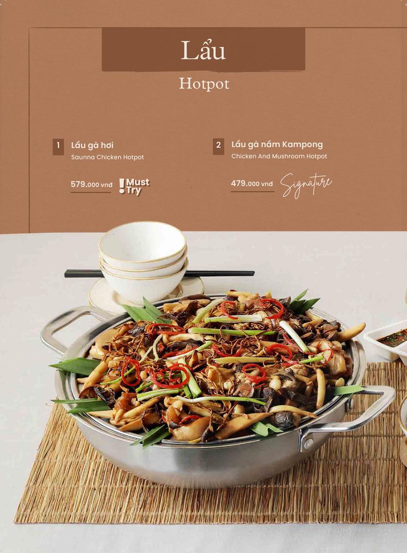 Menu Kampong Chicken House - Cơm gà Hải Nam - Hoàng Đạo Thúy 28