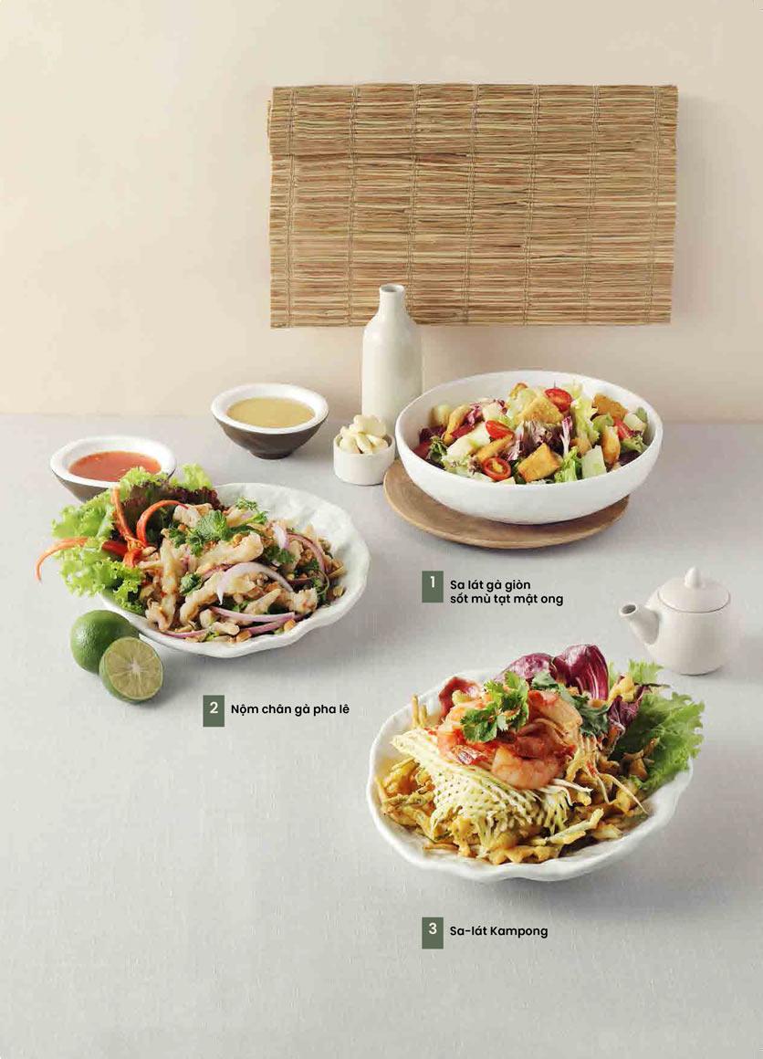 Menu Kampong Chicken House - Cơm gà Hải Nam - Hoàng Đạo Thúy 9