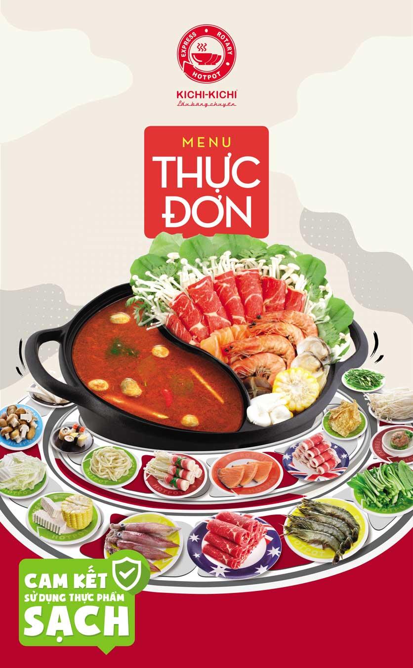 Menu Lẩu Băng Chuyền Kichi-Kichi - Trương Định 1