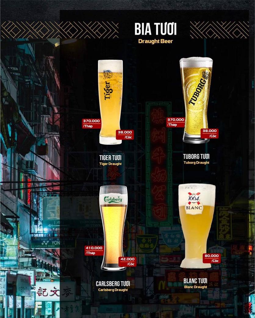 Menu 319 Beer Club - Tây Sơn 11