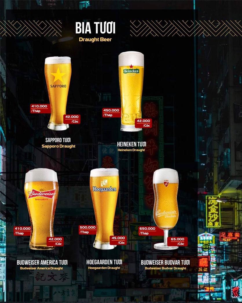 Menu 319 Beer Club - Tây Sơn 12