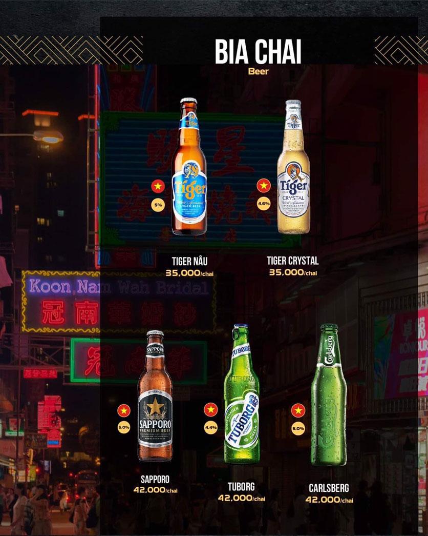 Menu 319 Beer Club - Tây Sơn 13