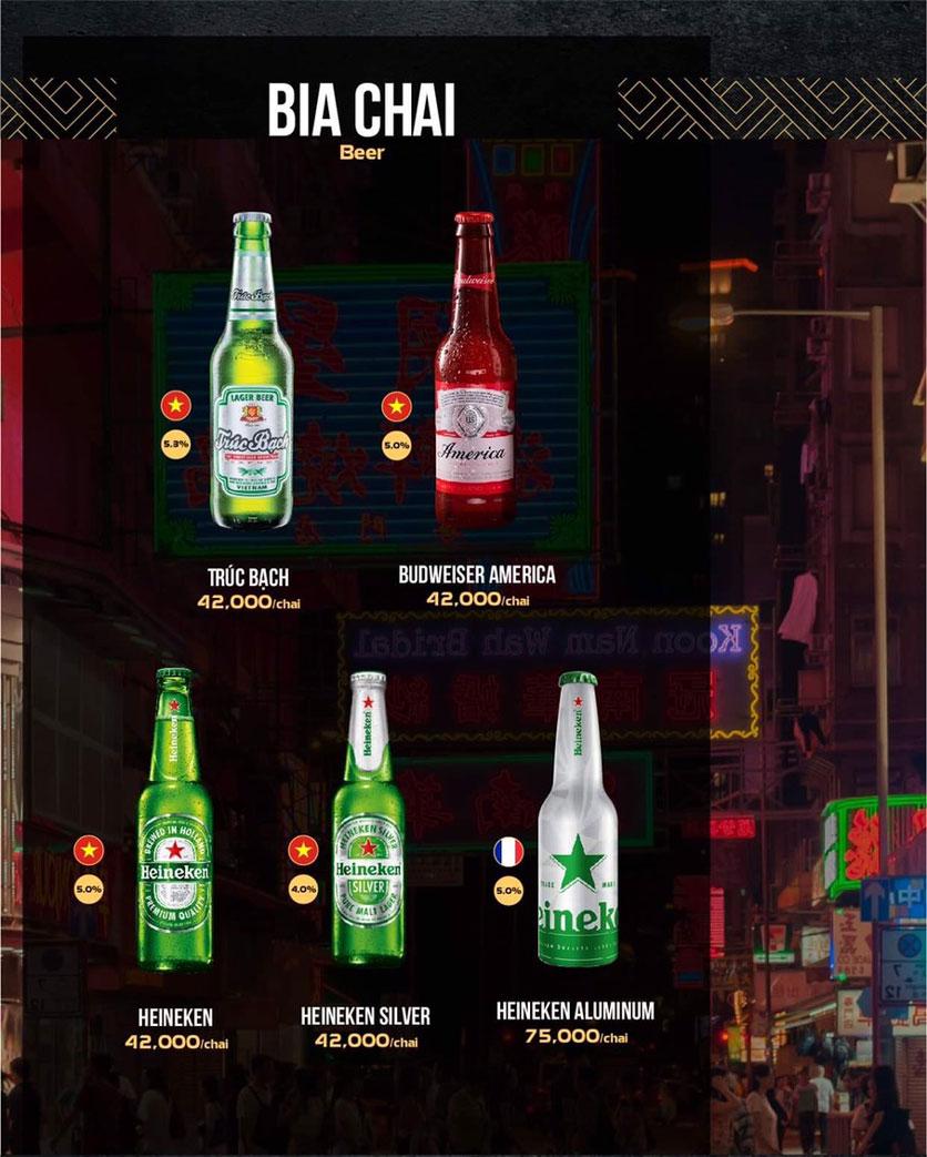 Menu 319 Beer Club - Tây Sơn 14
