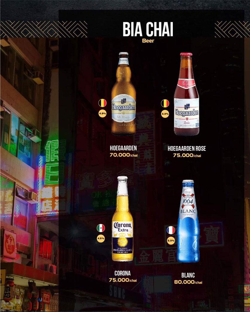 Menu 319 Beer Club - Tây Sơn 15