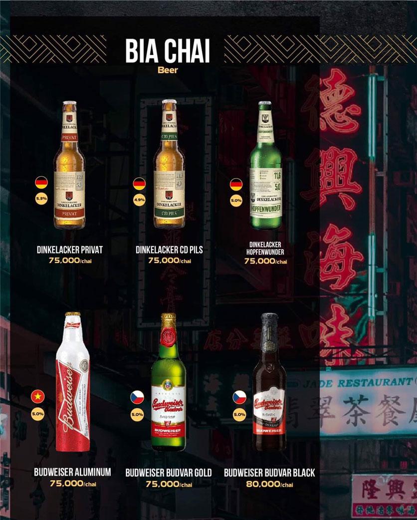 Menu 319 Beer Club - Tây Sơn 16