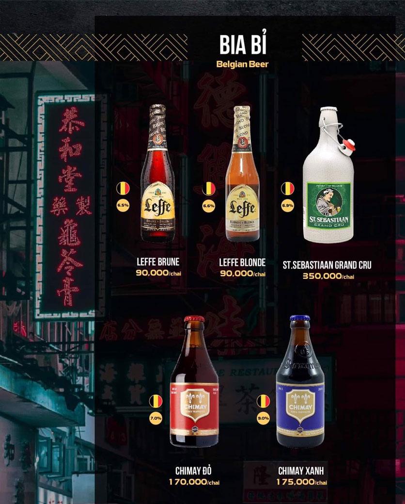 Menu 319 Beer Club - Tây Sơn 17