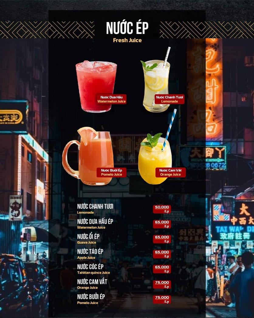 Menu 319 Beer Club - Tây Sơn 20