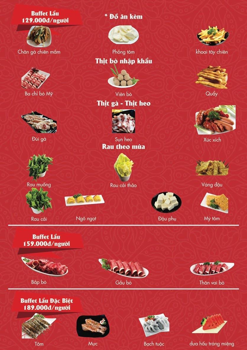 Menu A1 Restaurant - Kim Đồng 2