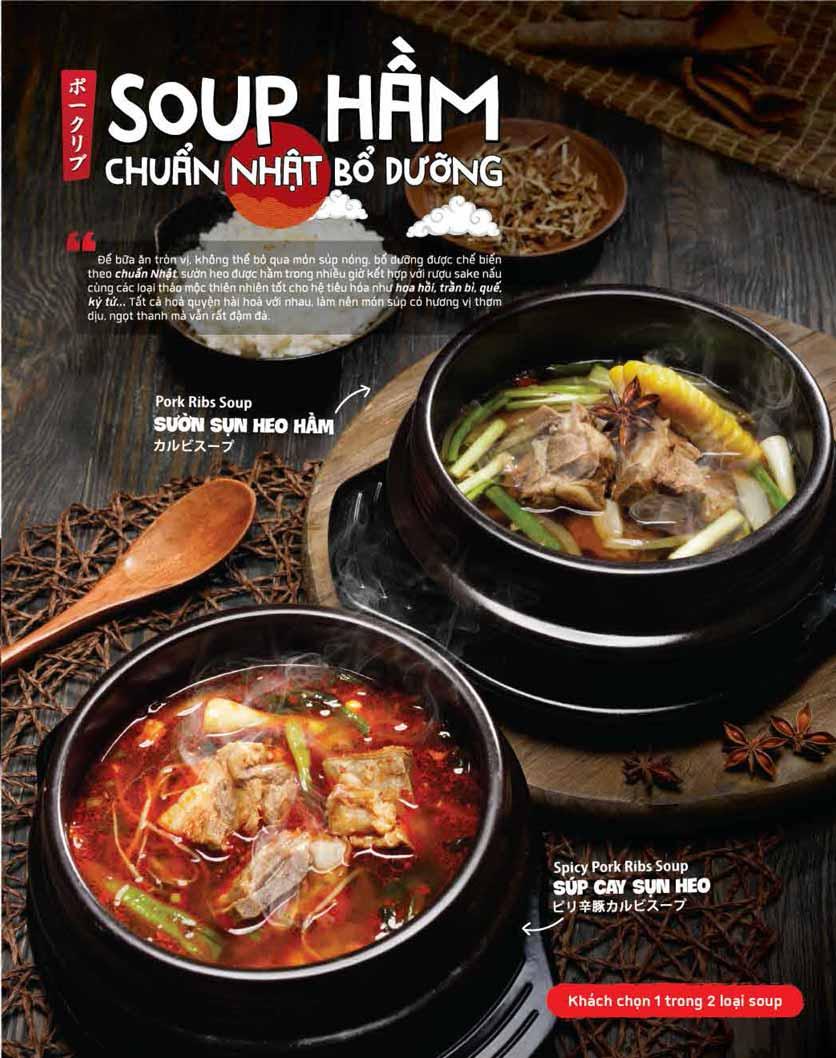 Menu Aka House – Nguyễn Ảnh Thủ 7