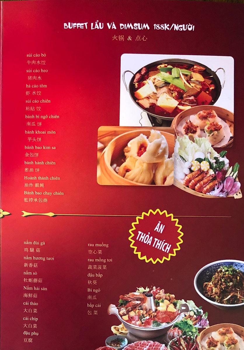 Menu Ẩm thực Trung Hoa – Đài Loan – Tôn Thất Tùng  2