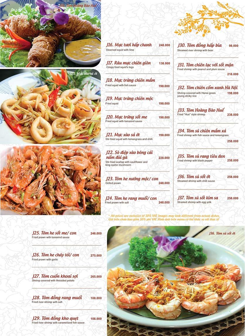 Menu Ao ta - Huỳnh Thúc Kháng 14