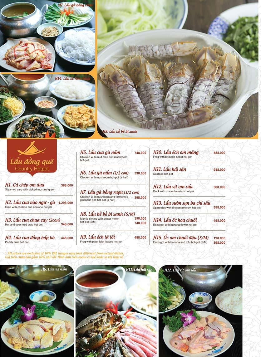 Menu Ao ta - Huỳnh Thúc Kháng 16