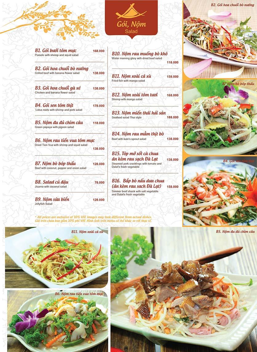 Menu Ao ta - Huỳnh Thúc Kháng 5