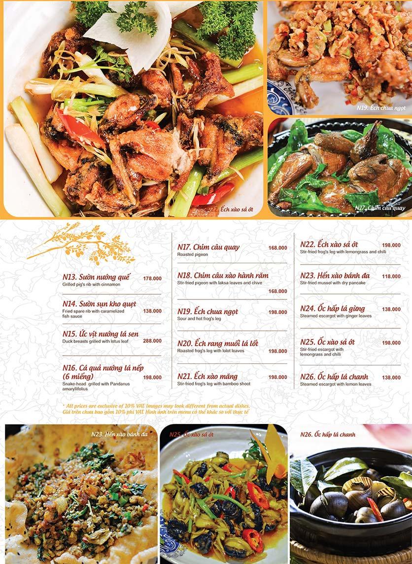 Menu Ao ta - Huỳnh Thúc Kháng 6