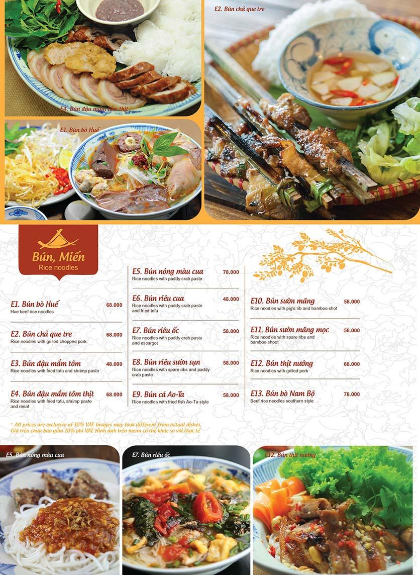Menu Ao ta - Huỳnh Thúc Kháng 8
