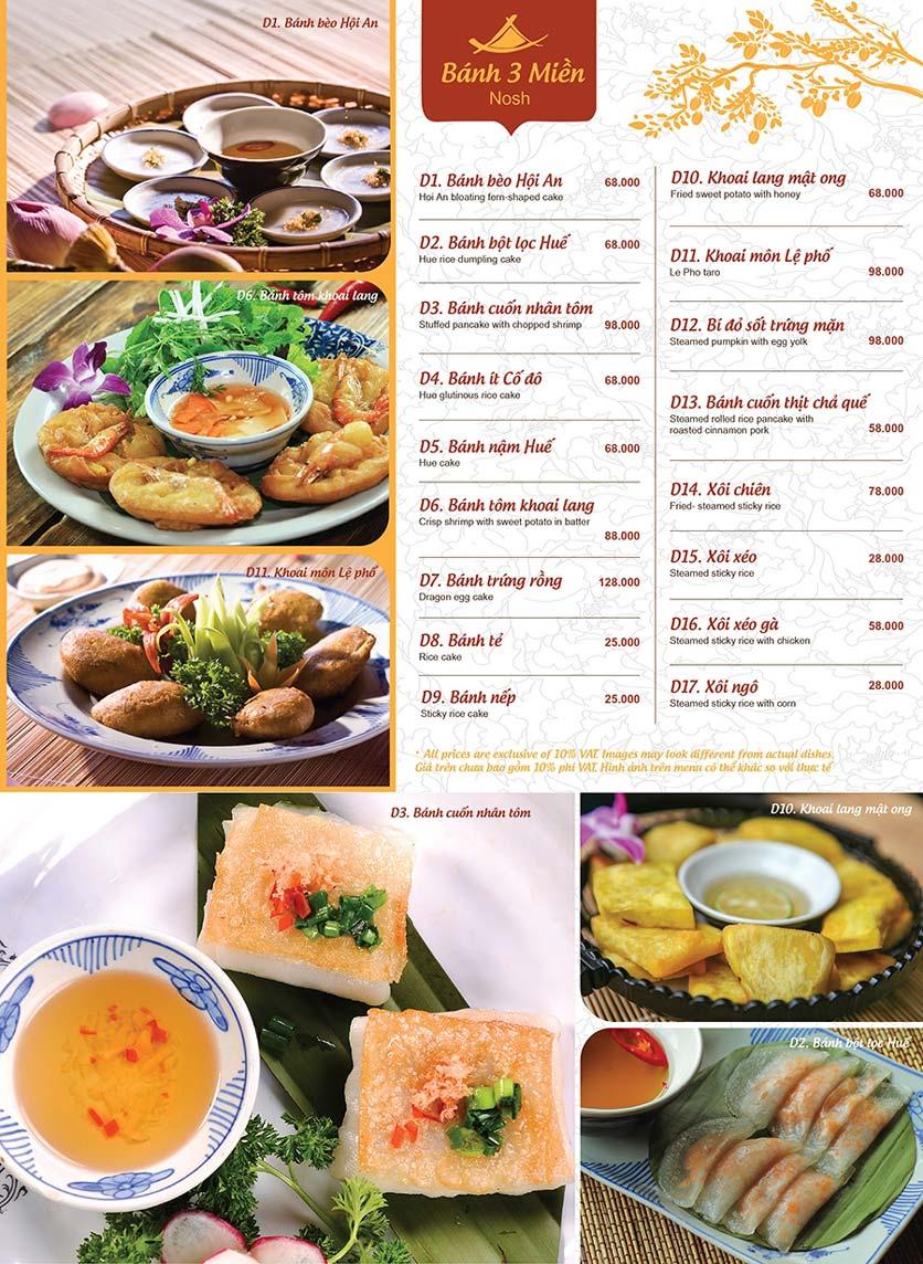 Menu Ao ta - Huỳnh Thúc Kháng 9