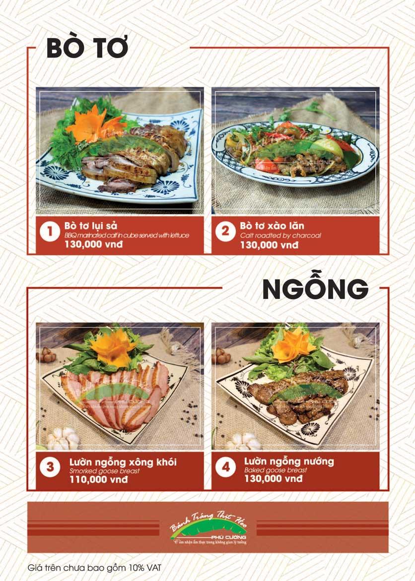 Menu Bánh Tráng Thịt Heo - Hà Đông  11
