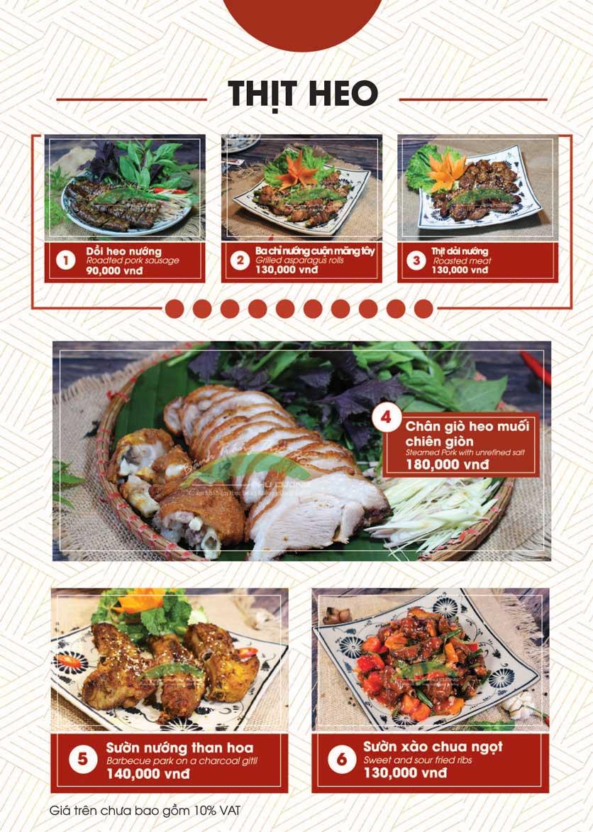Menu Bánh Tráng Thịt Heo - Hà Đông  14