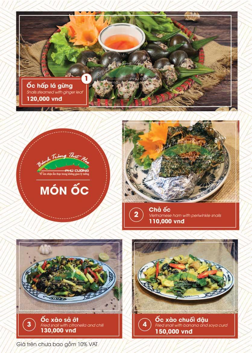 Menu Bánh Tráng Thịt Heo - Hà Đông  19